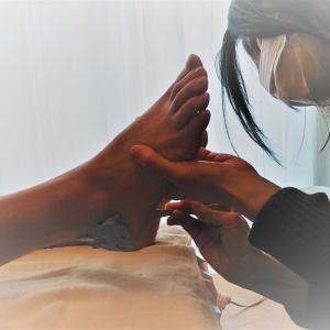 クレイセラピスト 森田啓子さんの『しっとりぽかぽか足裏クレイパック』 DAY